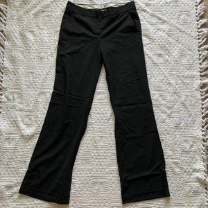 Theory black wide leg trousers size 10